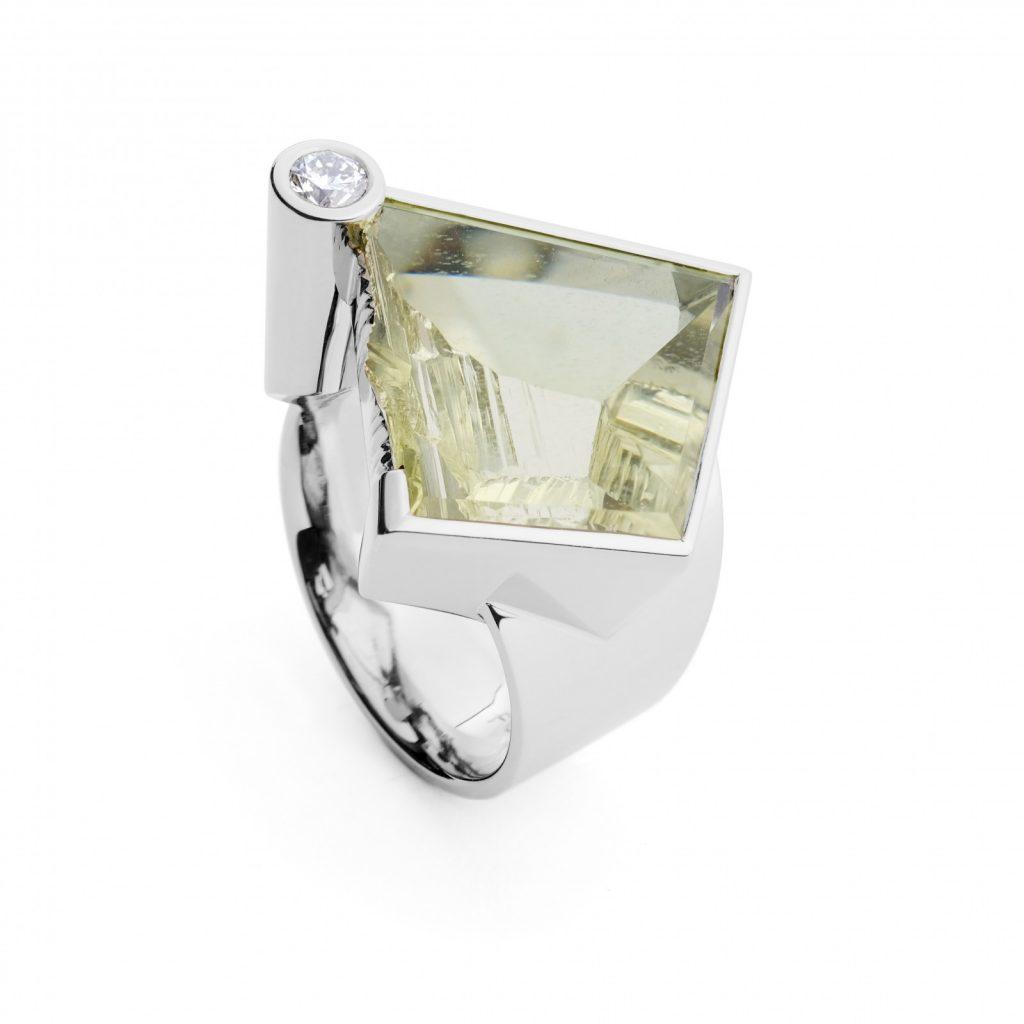 Ukrainian Beryl Ring