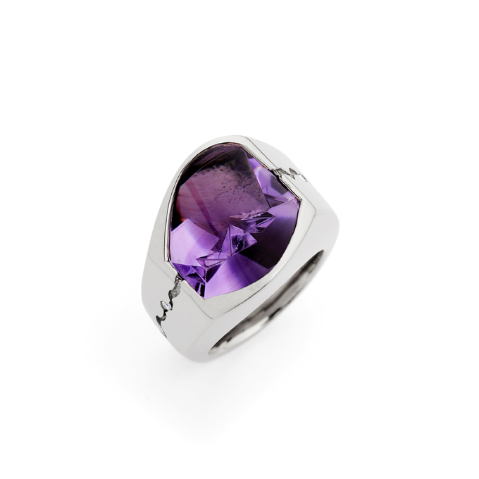 Brazilian Amethyst Ring